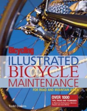 Book cover Bicycling: Illustrated Bicycle Maintenance: For Road and Mountain Bikes