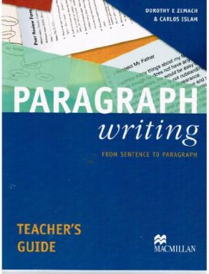 Обложка книги Paragraph Writing Teacher's Guide: From Sentence to Paragraph