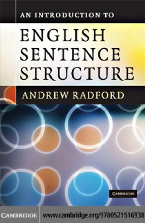 Book cover An Introduction to English Sentence Structure