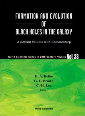 Okładka książki Formation and evolution of black holes in the galaxy: selected papers with commentary