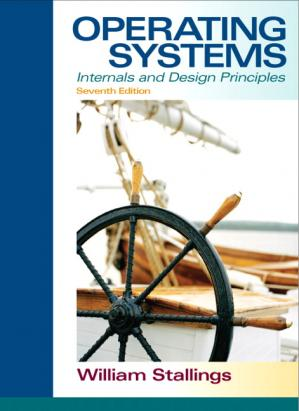 Book cover Operating systems: internals and design principles