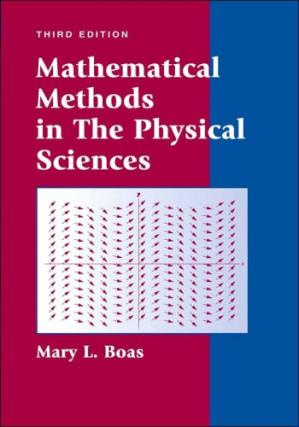 Εξώφυλλο βιβλίου Mathematical Methods in the Physical Sciences