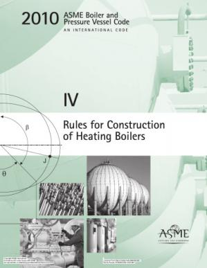 Book cover ASME BPVC 2010 - Section IV: Rules for Construction of Heating Boilers