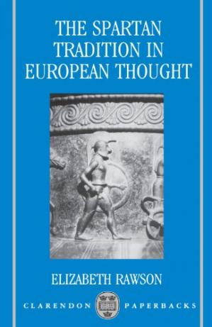Book cover The Spartan Tradition in European Thought (Clarendon Paperbacks)