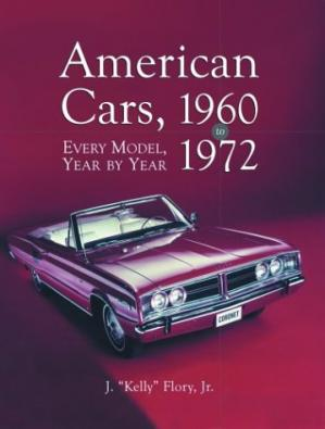 Book cover American Cars, 1960-1972: Every Model, Year by Year
