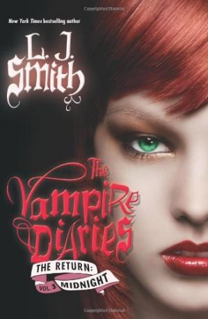 A capa do livro The Vampire Diaries: The Return: Midnight