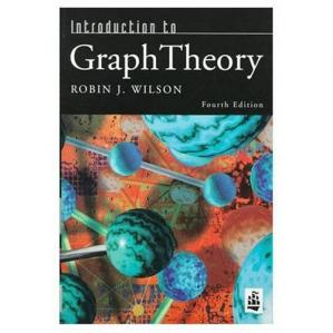Portada del libro Introduction to graph theory