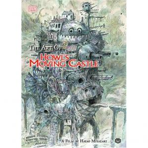 Book cover The Art of Howl's Moving Castle - A Film by Hayao Miyazaki