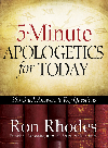Book cover 5-Minute Apologetics for Today. 365 Quick Answers to Key Questions