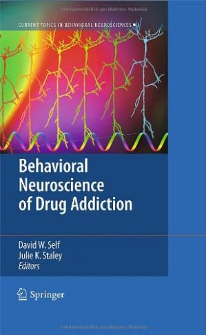 Обложка книги Behavioral Neuroscience of Drug Addiction