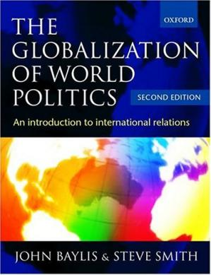 Copertina The Globalization of World Politics: An Introduction to International Relations