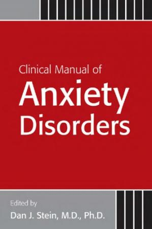 غلاف الكتاب Clinical Manual of Anxiety Disorders