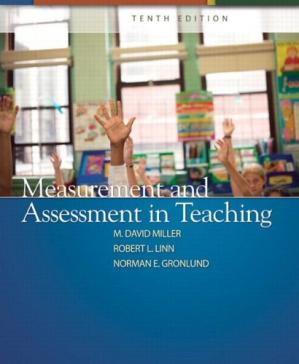 Обложка книги Measurement and Assessment in Teaching (Tenth Edition)