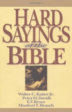 Copertina Hard Sayings of the Bible