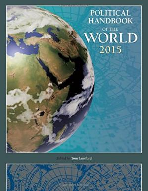 Copertina Political handbook of the world 2015