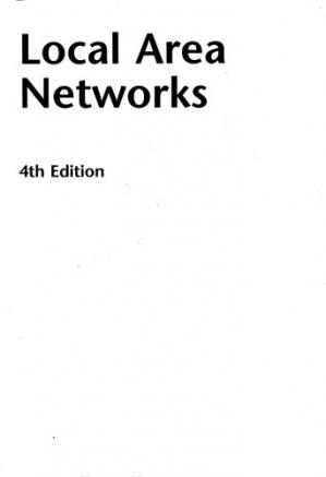 Book cover Local Area Networks 4th Edition