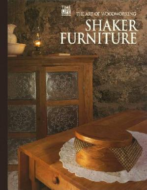 Book cover The Art of Woodworking Shaker furniture