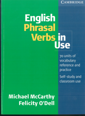 Book cover English Phrasal Verbs in Use