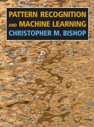 Εξώφυλλο βιβλίου Pattern Recognition and Machine Learning