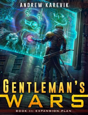 Book cover Gentleman's Wars 2: A Tower Defense LitRPG Series (The Great Game)