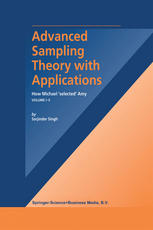 Copertina Advanced Sampling Theory with Applications: How Michael ' selected' Amy Volume I