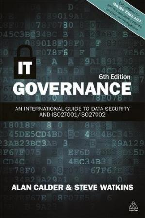 Book cover IT Governance: An International Guide to Data Security and ISO27001/ISO27002