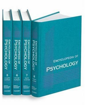 Book cover Encyclopedia of Psychology: 8-Volume Set
