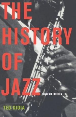 Book cover The history of jazz