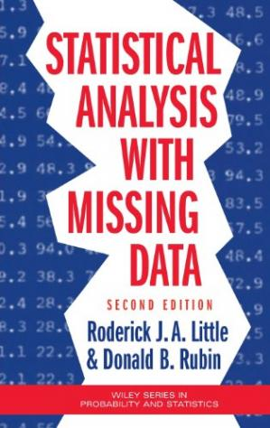 Book cover Statistical Analysis with Missing Data