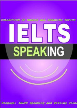Okładka książki IELTS Speaking Topics Collection