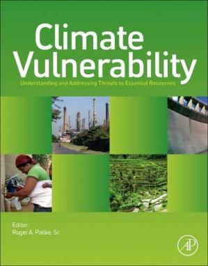 Εξώφυλλο βιβλίου Climate Vulnerability: Understanding and Addressing Threats to Essential Resources