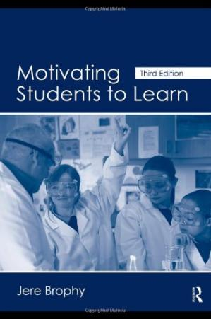 A capa do livro Motivating Students to Learn