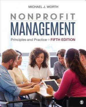 Couverture du livre Nonprofit Management: Principles and Practice