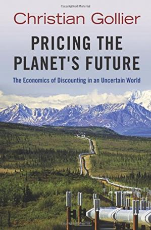 A capa do livro Pricing the Planet's Future: The Economics of Discounting in an Uncertain World