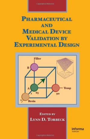 غلاف الكتاب Pharmaceutical and Medical Device Validation by Experimental Design