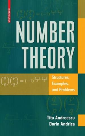 Copertina Number Theory: Structures, Examples, and Problems