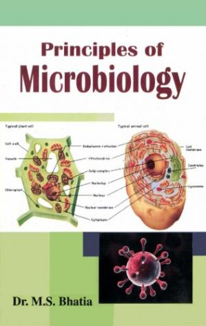 Book cover Principles of Microbiology