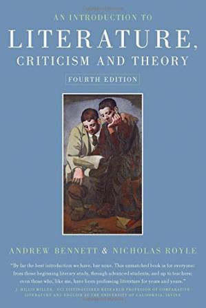 Book cover An Introduction to Literature, Criticism and Theory