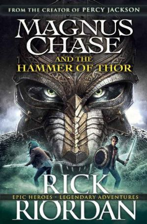 Book cover Magnus Chase and the Hammer of Thor