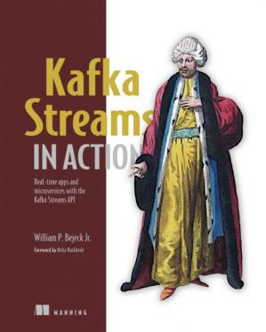 Portada del libro Kafka Streams in Action: Real-time apps and microservices with the Kafka Streaming API