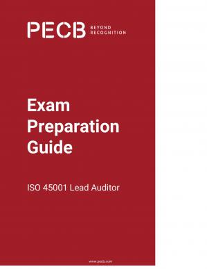 Book cover Exam Preparation Guide ISO 45001 Lead Auditor