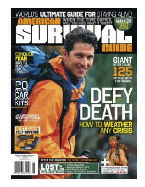 Book cover American Survival Guide 2012 issue 1