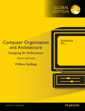 Book cover Computer Organization and Architecture:Designing for Performance