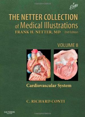 Обложка книги The Netter Collection of Medical Illustrations - Cardiovascular System: Volume 8, 2e