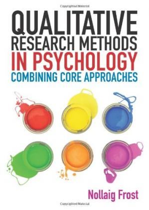 Okładka książki Qualitative Research Methods in Psychology: From core to combined approaches