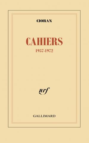 Book cover Cahiers 1957-1972