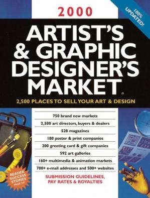 Book cover 2000 Artist's & Graphic Designer's Market