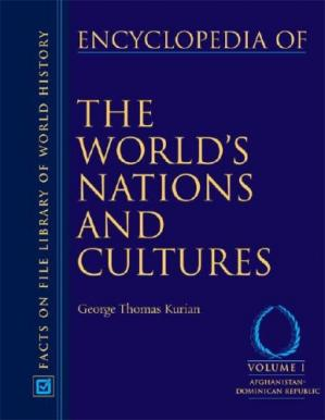 Copertina Encyclopedia of the World's Nations And Cultures