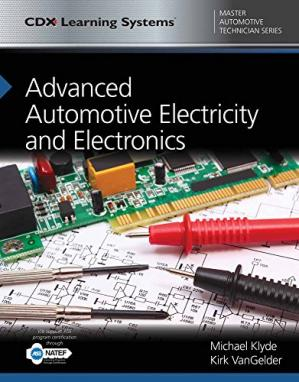 Book cover Advanced Automotive Electricity and Electronics: CDX Master Automotive Technician Series