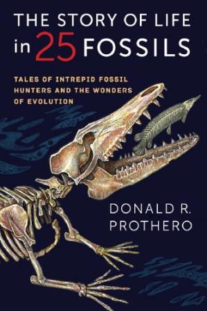 Обкладинка книги The Story of Life in 25 Fossils: Tales of Intrepid Fossil Hunters and the Wonders of Evolution